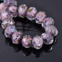 Perles Lampwork , perles de Murano   12 mm trou 1.2 mm X 12