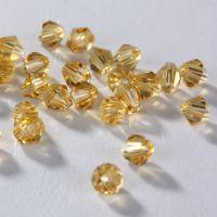 Perles  Verre crystal 4mm X 100