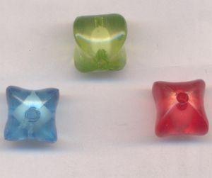 Perles Lampwork 15 mm X 3