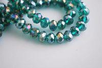 Perles Emerald AB 3 x 4 mm X 200