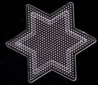 Plaque  etoile pour perles Hama 2.6 mm 10.3 cm