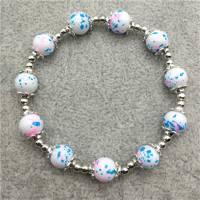 bracelet elastique .  new fashion jewelry 8 mm