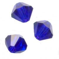 Toupies boheme 3 mm  dark sapphire AB X 100