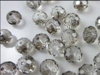 Perles cristal cream  3 x 4 mm X 100
