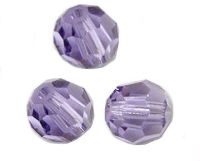 Perles cristal swarovski Rondes 5000 4 mm Tanzanite Qte : 20