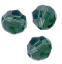 Perles cristal swarovski Rondes 5000 8 mm TURMALINE Qte : 6
