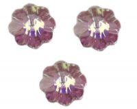 Perles fleur Swarovski  light amethyst AB 6 mm (3700) X 10
