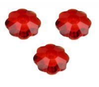 Perles fleur Swarovski  light siam 6 mm ( 3700 ) X 10