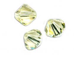 TOUPIES SWAROVSKI® ELEMENTS  6MM  JONQUIL  X 20 perles