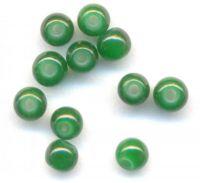 Perles rondes crystal 4 mm Diametre du trou 1 mm Vert X 200