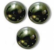 Perles nacrées 5810 SWAROVSKI® ELEMENTS 10 mm DARK GREEN X 5
