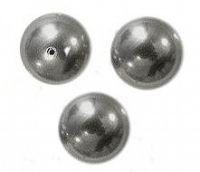 Perles nacrées 5810 SWAROVSKI® ELEMENTS 10 mm DARK GREY  X 5