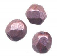 PERLES FACETTES DE BOHEME 3mm  Metallic Dark plum X 100