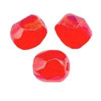PERLES FACETTES DE BOHEME  6mm 25 perles HYACINTH