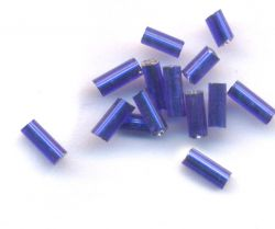 Perles de rocailles tubes 4 x 2mm 6 gr