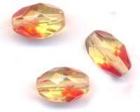 Perles crystal Olive 12 x 6 mm Crystal topaz