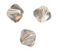 TOUPIES SWAROVSKI® ELEMENTS 5MM CRYSTAL SATIN