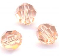 Perles cristal swarovski Rondes 5000 6 mm Light peach Qte : 6