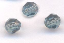 Perles cristal swarovski Rondes 5000 6 mm Light emerald Qte : 6