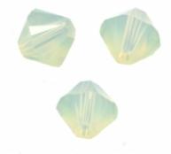 TOUPIES SWAROVSKI® ELEMENTS  4 mm CHRYSOLITE OPAL X 50