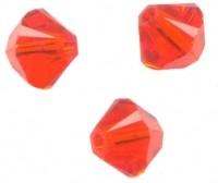 TOUPIES SWAROVSKI® ELEMENTS  4 mm HYACINTH X 50