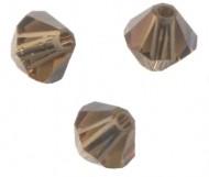 TOUPIES SWAROVSKI® ELEMENTS  4 mm  SMOKY QUARTZ X 50