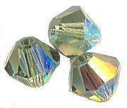 TOUPIES SWAROVSKI® ELEMENTS  4mm   ERINITE AB X 50 perles