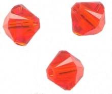 TOUPIES SWAROVSKI® ELEMENTS  4mm   HYACINTH AB X 50 perles