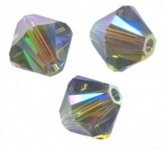 TOUPIES SWAROVSKI® ELEMENTS  4mm   INDIAN SAPPHIRE AB X 50 perles