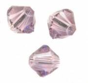TOUPIES SWAROVSKI® ELEMENTS 6MM  LIGHT AMETHYST X 20 perles