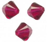 TOUPIES SWAROVSKI® ELEMENTS  6MM  RUBY X 20 perles