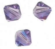 TOUPIES SWAROVSKI® ELEMENTS  6MM  TANZANITE X 20 perles