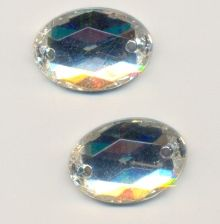 Cabochon a coudre CRYSTAL<br /> X 1