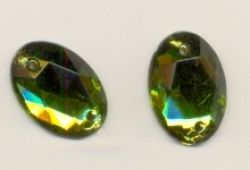 Cabochon a coudre OLIVINE<br />