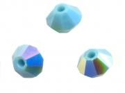 TOUPIES SWAROVSKI® ELEMENTS  4mm   TURQUOISE AB X 50 perles