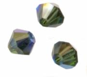 TOUPIES SWAROVSKI® ELEMENTS  4mm   TURMALINE AB X 50 perles