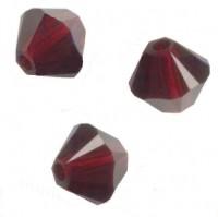 TOUPIES SWAROVSKI® ELEMENTS  6MM  GARNET X 20 perles