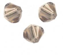 TOUPIES SWAROVSKI® ELEMENTS  6MM  GREIGE X 20 perles